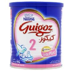 قیمت و خرید شیر خشک گیگوز ۲ نستله مخصوص شیرخواران از ۶ ماهگی به بعد