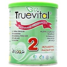 شیر خشک تروویتال 2-  Truevital مناسب شیرخواران از 6 تا 12 ماهگی